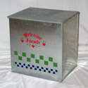 Milk box, milkbox for home delivery dairy companies.